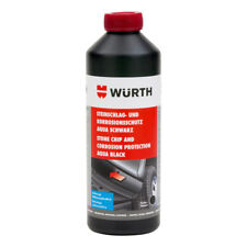 Wurth Stone Guard  Chassis Paint 1lt Black Stone chipping & corrosion protection
