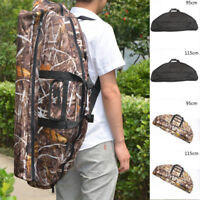 Hunting Compound Bow Back Quiver Shoulder Archery Arrow Pouch Bag Holder Case