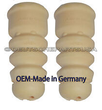 Audi A4 A6 S4 VW Passat Rear Bump Stop L + R Made in Germany 3B0512131H Set of 2