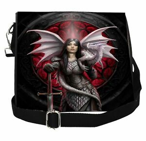 Valour Embossed Shoulder bag by Anne Stokes (Nemesis Now)