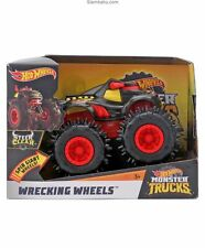 Hot Wheels Monster Trucks Wrecking Wheels STEER CLEAR Toy Vehicle