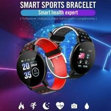 119PLUS Screen Bluetooth Smart Watch Phone Mate for Samsung/iPhone/Android