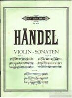 Sonaten für Violine und Pianoforte: Händel, G. F.