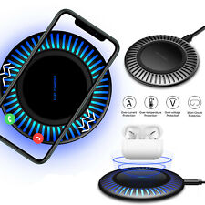 For iPhone SE 2020 11 Pro Max XR XS 8 Plus Qi Wireless Fast Charger Charging Pad