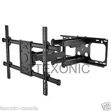 32 - 70 Dual Arm FULL MOTION SWIVEL LCD LED TV WALL MOUNT 40 46 55 60 63*