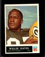 1965 PHILADELPHIA #73 WILLIE DAVIS EXMT PACKERS HOF  *XR13920