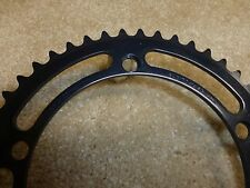 Vintage - NOS - Sugino Mighty Competition 45 t. Black Chainring - 144 BCD
