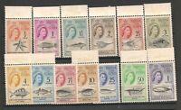 Tristan Da Cunha 1961 QEII Set Mint Never Hinged