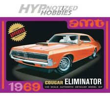 AMT 1/25 1969 Mercury Cougar Orange MODEL KIT 912