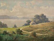 Haus am See Seelandschaft Bodensee ? signiert H. Dose