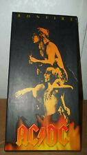 "AC/DC 2003 Bonfire Box Set 4 Disc, Guitar Pick, 30"" Poster, Bottle Opener"