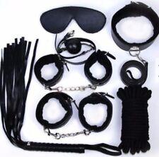 Fetish 7 piece Suit-  Bondage Sex Games - Handcuffs