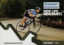 Catalog Bicycles Giant off on road 2012 Brochure Bicycle Bike Brochure rennra