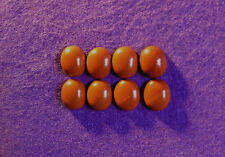 Red Jasper Cabochon collection 12 mm x 10 mm ovale, 33.00cts, réf bg-f4