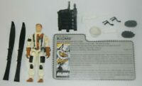 1988 GI Joe Blizzard Arctic Snow Attack Soldier v1 Figure w/ File Card *Complete