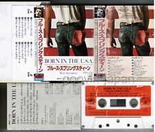 BRUCE SPRINGSTEEN Born In the USA JAPAN CASSETTE w/PS(Flap)+INSERT 28KP1126