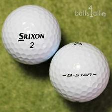 100 Srixon Q-Star Golfbälle AAAA Lakeballs in Top-Qualität Bälle used golf balls