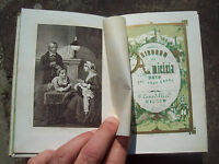 1861 STRENNA ROMANTICA 1862 CON GIUSEPPE, GARIBALDI, FELICE VENOSTA. ILLUSTRATA