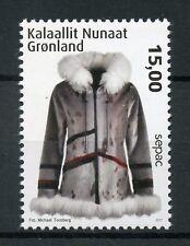 Groenlandia 2017 estampillada sin montar o nunca montada local Manualidades Sepac 1v Set Manualidades Sellos