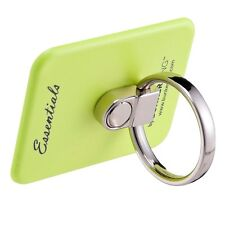 Bunker Ring Finger Grip Holder Stand For iPhone Universal Mobile Devices - Lime
