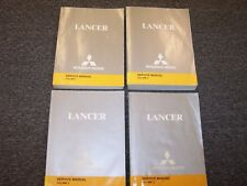 2004 Mitsubishi Lancer Shop Service Repair Manual Set ES LS Ralliart 2.0L 2.4L