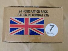 Menue #07 GB ARMY 24 Hour Combat razione MRE EPA Survival razione K vitto