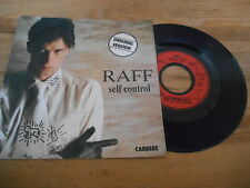 "7"" POP Raff-Self Control/part 1 & 2 (2) canzone Carrere"