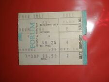 JETHRO TULL / JULY 1973 FORUM LA ~ Ticket Stub ~ Passion Play Tour ~ EXCELLENT