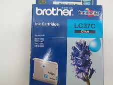 BROTHER LC37C CYAN INK CARTRIDGE DCP-135C DCP-150C NEW