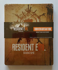 Steelbook Resident Evil Biohazard PS4 / G2 / new blister without default