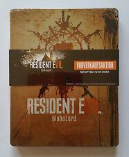 Steelbook Resident Evil Biohazard PS4 / G2 / rare / neuf sous blister