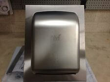 Nvi Recessed Manual Hands Free Towel Dispenser, Stainless Steel, New in Box