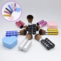 Cn _ Ne _ Rétractable Manche Maquillage Pinceaux Set Kit Cosmétique Pro Poudre
