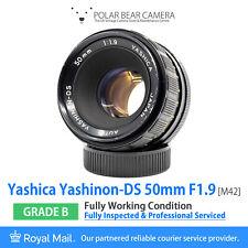 ⭐SERVICED⭐ YASHICA 50mm F1.9 Yashinon-DS M42 Prime + Cap [GRADE B]