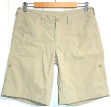 THE NORTH FACE WOMENS SZ 8 MEASURED W30 X LENGTH 18 INCH BEIGE SHORTS FREE POST