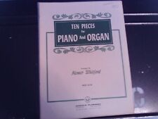 arr, Whitford: 10 Pieces for Organ & Piano (Duet) (Flammer)