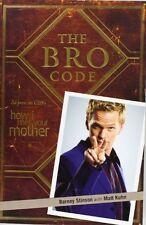 The Bro Code,Barney Stinson, Matt Kuhn