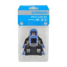 Shimano SM-SH12 sin Clip Spd-Sl Tacos Pedales Dos Grados Flotar - Azul