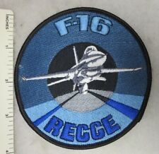 DUTCH ROYAL NETHERLANDS AIR FORCE PATCH F-16 RECCE Vintage Original
