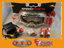 Mountain Bike Brille Goggle Roll-Off System Mountainbike Roll off elektronik NEU