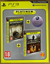 Videogame - Platinum Resistance Double Pack - Fall of Men + Resistance 2 - PS3