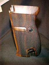 Walther P38 P1 Fine English Walnut Checkered Fancy Pistol Gun Grips Beautiful!