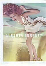 PUBLICITE ADVERTISING 2011 ALBERTA FERRETI  haute couture italienne
