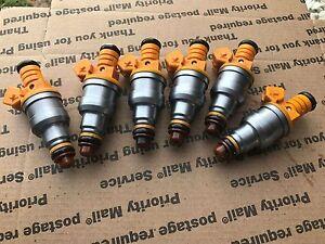 87-97 Jeep Cherokee Comanche Wrangler 4.0 Bosch Fuel Injector upgrade set of 6