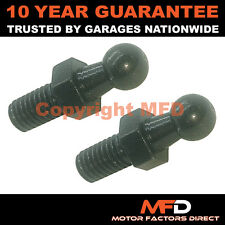 PAIR GAS STRUT END FITTINGS 10MM BALL PIN BLACK MULTI FIT GSF55