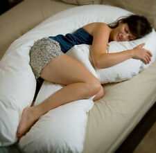 Full Size Adult Comfort U Total Body Sleep Support Pillow by Moonlight Slumber
