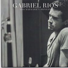 Gabriel Rios-This Marauders Midnight promo cd single