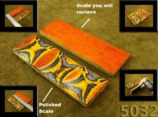 "5"" Pair of Exotic Wood Scales Knife Handle Making Blanks Bush Crafts TOP! (714"