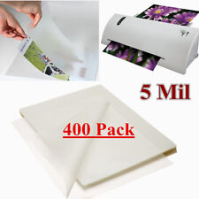 400 Pack 5 Mil  Letter Size Thermal Laminating Pouches 9 x 11.5 Universal Glossy