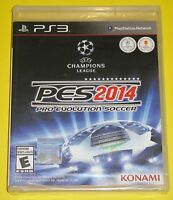 Pro Evolution Soccer PES 2014 (Sony PlayStation 3, 2013) NEW plastic wrap torn